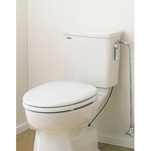 セキスイ(SEKISUI) 簡易水洗便器リブレット 洋風陶器製ロータンク式 KY(N)|aquashop07