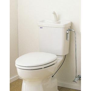 セキスイ(SEKISUI) 簡易水洗便器リブレット 洋風陶器製手洗付ロータンク式 KY-T(N)|aquashop07