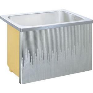 LIXIL サンウエーブ ステンレス浴槽 据置式 1方全エプロン 間口80cmタイプ SA080-12RA-BL SA080-12LA-BL|aquashop07