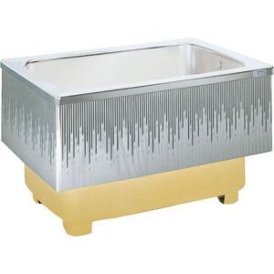 LIXIL サンウエーブ ステンレス浴槽 埋込式 2方半エプロン 間口80cmタイプ SA080-21RA-BL SA080-21LA-BL|aquashop07