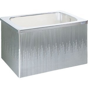 LIXIL サンウエーブ ステンレス浴槽 据置式 2方全エプロン 間口80cmタイプ SA080-22RA-BL SA080-22LA-BL|aquashop07