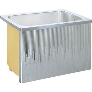 LIXIL サンウエーブ ステンレス浴槽 据置式 1方全エプロン 間口90cmタイプ SA090-12RA-BL SA090-12LA-BL|aquashop07