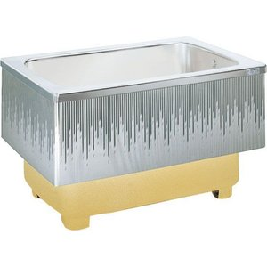 LIXIL サンウエーブ ステンレス浴槽 埋込式 2方半エプロン 間口100cmタイプ SA100-21RA-BL SA100-21LA-BL|aquashop07