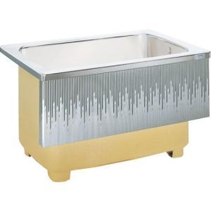 LIXIL サンウエーブ ステンレス浴槽 埋込式 1方半エプロン 間口110cmタイプ SA110-11RA-BL SA110-11LA-BL|aquashop07