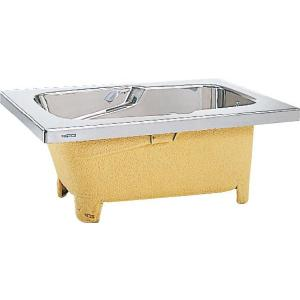 LIXIL サンウエーブ ステンレス浴槽 洋バスタイプ 埋込式 ノーエプロン 間口145cmタイプ SBS145-00A|aquashop07
