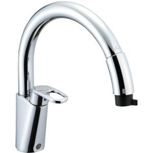 LIXIL INAX キッチン用水栓金具 シングルレバー混合栓  グースネック(エコハンドル) SF-HM451SYXU SF-HM451SYXNU