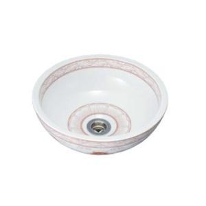 水生活製作所 手洗鉢 景徳鎮 白赤 TK13R aquashop07