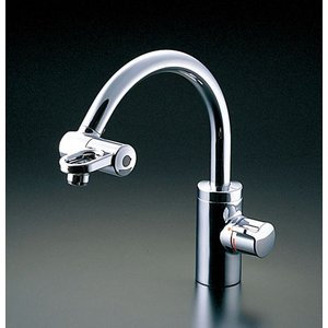 TOTO 先端開閉式ミキシング混合栓(ワンホールタイプ) TKF51PN TKF51PNZ|aquashop07