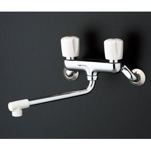 TOTO 2ハンドル混合栓(壁付タイプ) TKJ20BAU|aquashop07