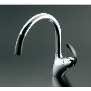 TOTO シングルレバー混合栓(ワンホールハンドシャワータイプ) TKN34PBRR|aquashop07