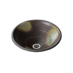 水生活製作所 手洗鉢 美濃焼 灰釉(はいゆう) Lサイズ TM13AL aquashop07