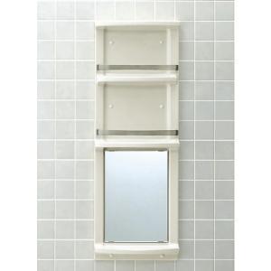 INAX 浴室収納棚(鏡付)平付 YR-412G|aquashop07