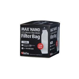 レッドシー MAXNANO用225ミクロン メッシュフィルターバッグ2個入り|aquatailors