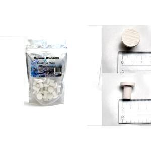(Oceans Wonders) 30pcs ceramic coral frag plugs white|aquatailors