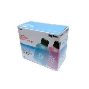 バイコム バクテリア スーパーバイコムスターターキット 淡水用 110ml(硝化菌専用基質1本付)|aquatailors