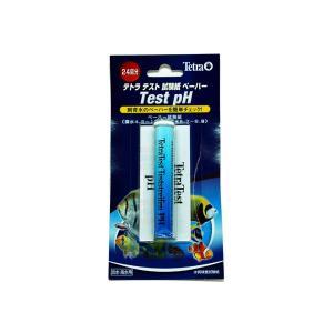 テトラ テトラテスト試験紙 pH(淡水・海水用)|aquatailors