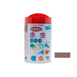 キョーリン ビタミン添加フリーズドライ ひかりFD ビタミン赤虫 12g|aquatailors