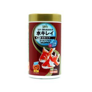 キョーリン ひかり菌&GB菌配合 金魚用フレーク ゴールドプロス 150g|aquatailors