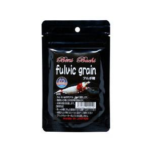 紅蜂シュリンプ fulvic grain(フルボ酸) 30g|aquatailors