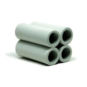 リキジャパン 珪藻土入りシェルター シュリンプ土管 白・4 aquatailors