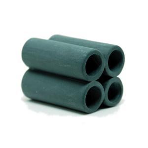 リキジャパン 珪藻土入りシェルター シュリンプ土管 黒・4 aquatailors