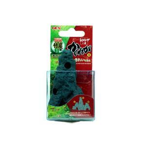ジェックス 竹炭配合陶器製シェルター 珪藻土入りシェルター シュリンプ一番 かくれがS|aquatailors
