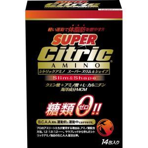 シトリックアミノ スーパースリム&シェイプ 糖質ゼロ 6g×14袋入 MDJ-8096 aqureare