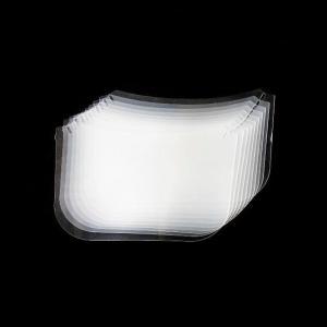 交換用フェイスシールド10枚セット SCWM100メガネ型可動式フェイスシールド用オプション|aqureare