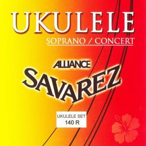 【送料込み価格】SAVAREZ サバレス ウクレレ フロロカーボン弦  ソプラノ・コンサート用  140R  Soprano/Concert|arabastamusic