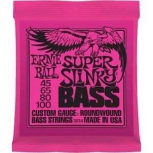 【送料無料】 アーニーボール(アニーボール) エレキベース弦 2834  ERNIE BALL SUPER SLINKY #2834 arabastamusic
