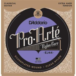 【送料無料】D'Addario ダダリオ クラシックギター弦 EJ44 プロアルテ エクストラハードテンション Pro-Arte EXTRA HEARD Tension Tension arabastamusic