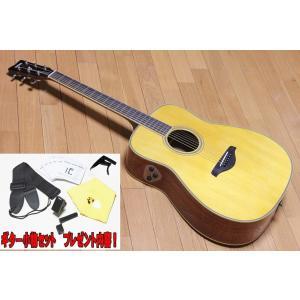 【送料無料】【アクセサリーセット!】ヤマハ エレアコ仕様  YAMAHA FG-TA VT ビンテージティント トランスアコースティックギター|arabastamusic