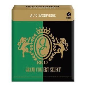 【送料無料】RICO リコ グランドコンサート セレクト アルトサックス リード RICO(D'Addario)Grand Concert Select Eb Alto Sax Reeds  10枚入り|arabastamusic