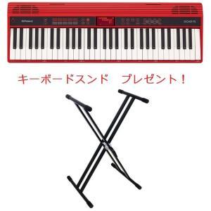 【送料無料】Roland ローランド KEYS Entry Keyboard  GO-61K 初心者におすすめのキーボード(シンセサイザー)キーボードスタンドプレゼント!|arabastamusic