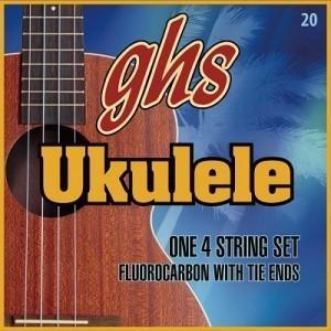 【送料込み価格】  ghs ウクレレ ナイロン弦  ソプラノ・コンサート用 H10  ghs ウクレレ弦  H-10|arabastamusic