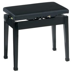 【送料無料】甲南 国産ピアノイス P-50 高低調整できて 片ハンドル昇降 高低椅子 電子ピアノにおすすめ ギターなどでも愛用される椅子です!|arabastamusic