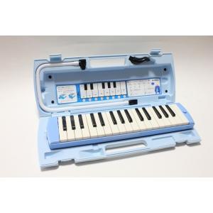 【送料無料】ヤマハ YAMAHA 鍵盤ハーモニカ ピアニカ 32鍵盤 ブルー P32E レビューを書いて鍵盤シール(ドレミシール)をプレゼント! arabastamusic