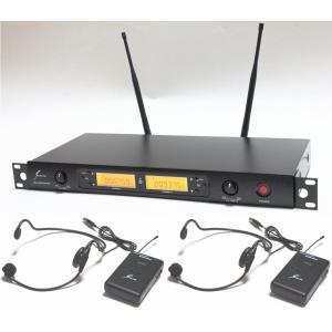 【送料無料】 サウンドピュア ヘッドセットマイク 2本/チューナーセット  業務用として使用される方が増えています!SP8022-WEMBK2 arabastamusic