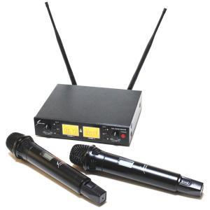 【送料無料】 サウンドピュア ワイヤレスマイク 2本/チューナーセット  業務用として使用される方が増えています!SOUND PURE  SPV8011s-VDUAL arabastamusic