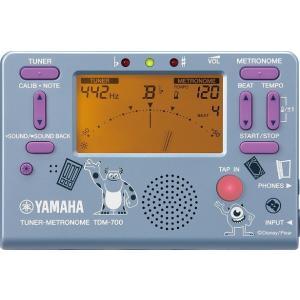 【予約販売 特価】YAMAHA ヤマハ  TDM-700DMI 【限定モデル】ディズニー チューナー/メトロノーム モンスターズ・インク【 TDM700DMI 】