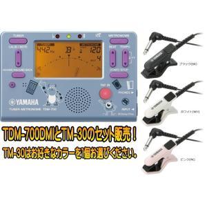 【送料無料】ヤマハ ディズニー限定モデル  モンスターズ・インク TDM700DMI とチューナーマイク TM30 のセット販売 TDM-700DMI&TM-30