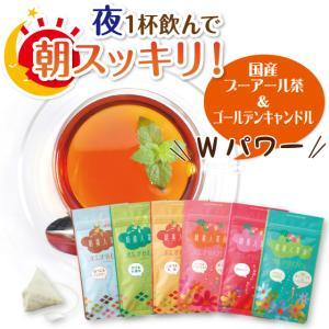 健康茶 お茶 ハーブティー 詰め合せ 朝美人革命 6種類セット 10%OFF|arahata