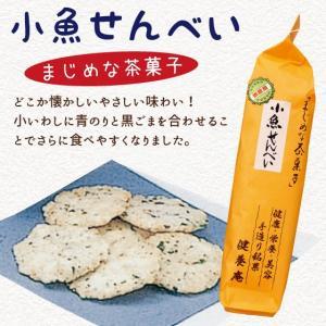 煎餅 お菓子 おやつ 小魚せんべい 75g arahata