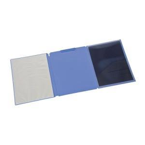 ナカバヤシ ミーティングファイルボード/A4 クリアポケット付 ブルー FQ1030B|araicamera
