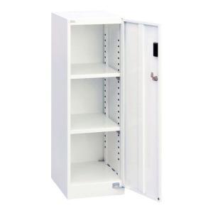 ナカバヤシ セキュリティフロアケース 書類ケース 書類棚 棚板タイプ シロ AF-ST2|araicamera