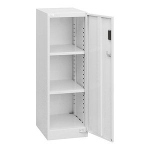 ナカバヤシ セキュリティフロアケース 書類ケース 書類棚 棚板タイプ ニューグレー AF-ST2|araicamera