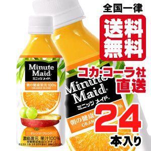 ミニッツメイドオレンジブレンド 350mlPETx24本 araicamera