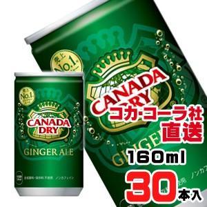 カナダドライジンジャーエール 160ml缶x30本【2020/3/30発売予定】 araicamera
