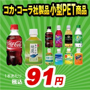 コカ・コーラ 小型PET選り取りセット(24本x2ケース)|araicamera
