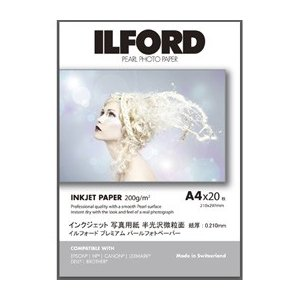 ILFORD ILFORD Premium PhotoPaper Pearl A3+ 20枚|araicamera